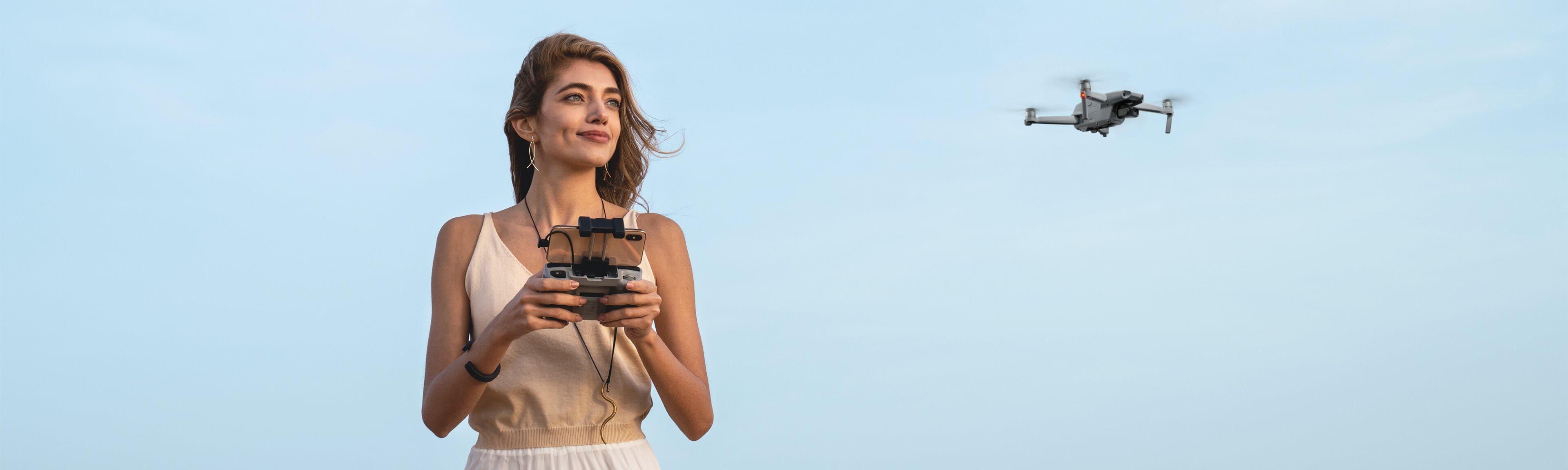 inteligentne tryby drona