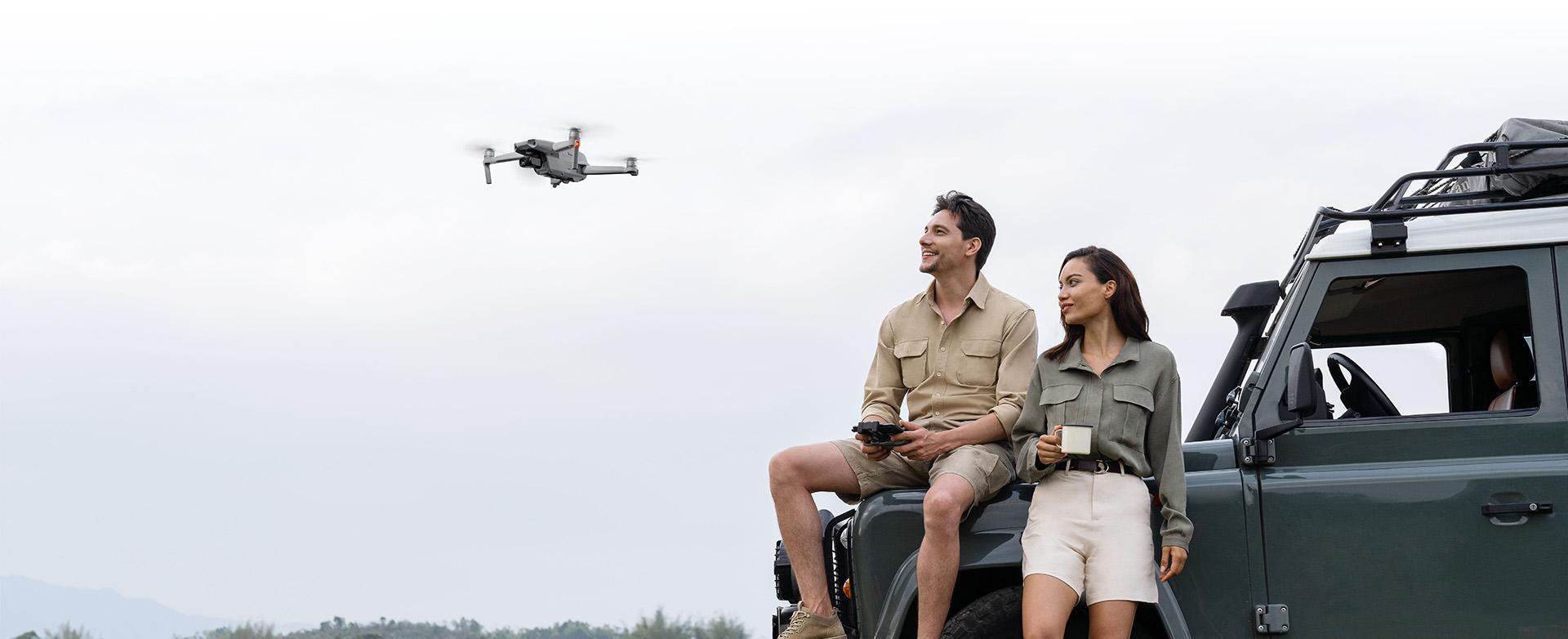 Filmowe ujęcia z dronem DJI