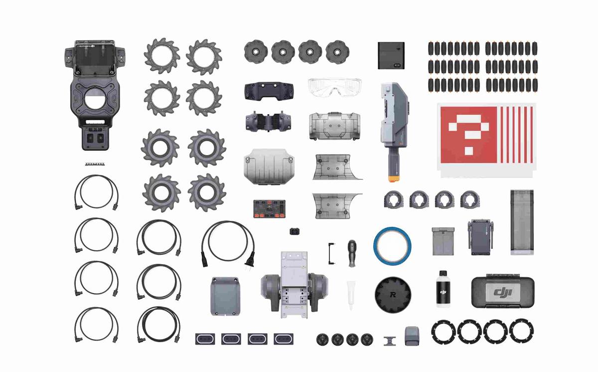 elementy Robomaster S1