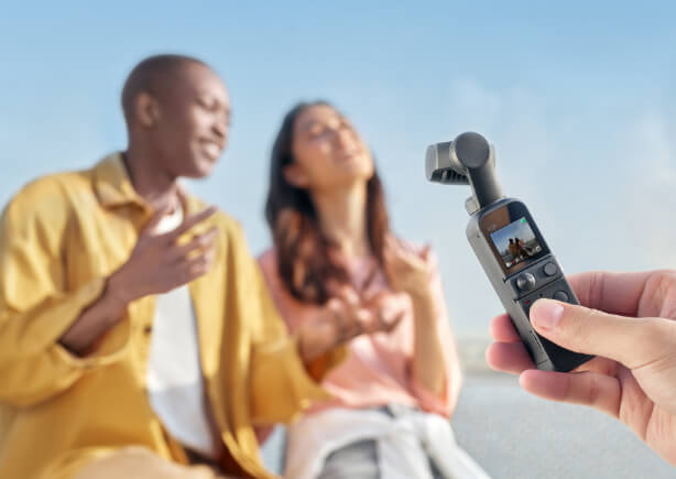 DJI Osmo Pocket 2 nagranie jedną ręką