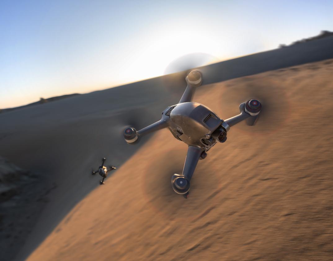 Aplikacja DJI Fly dla drona DJI FPV