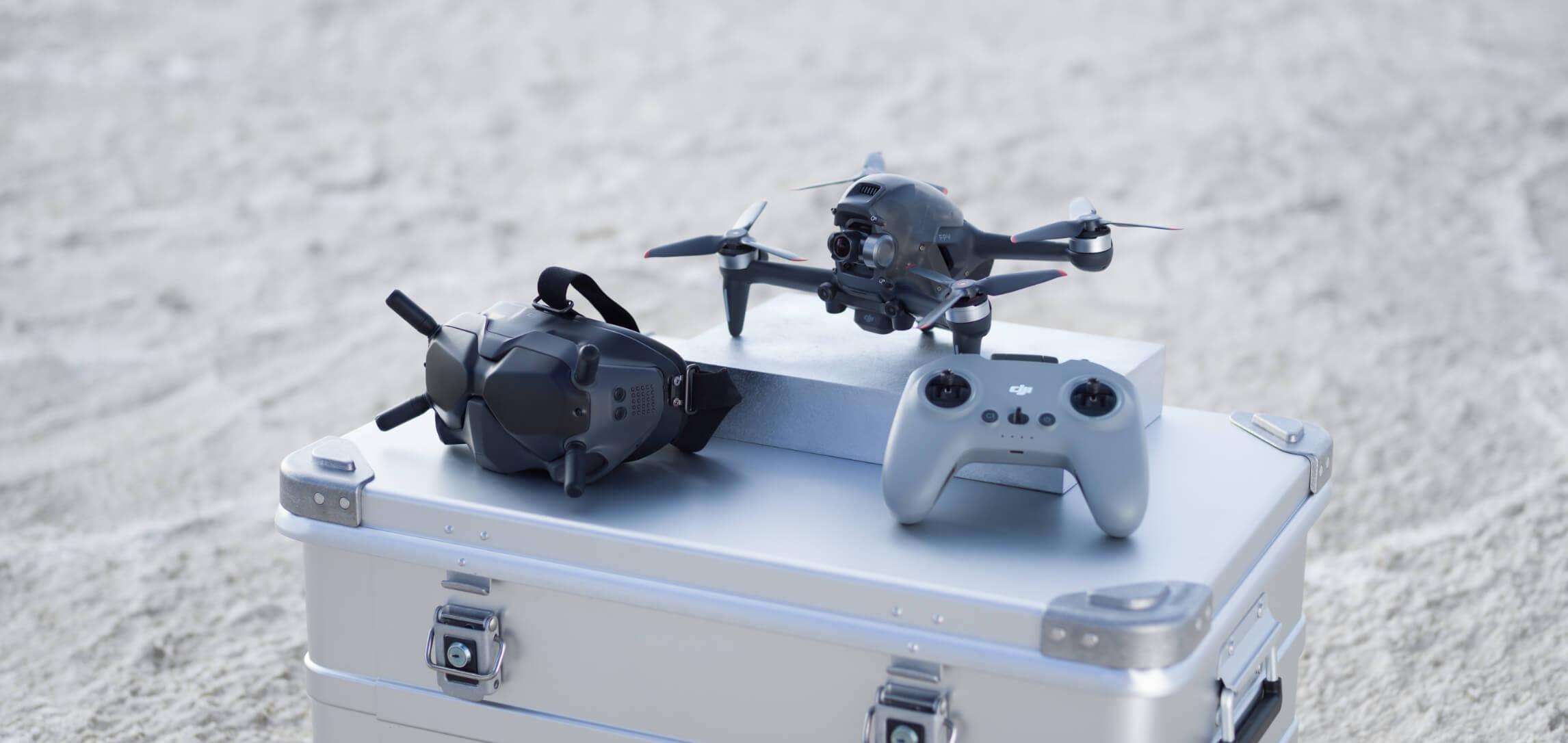 Dron DJI FPV gotowy do lotu