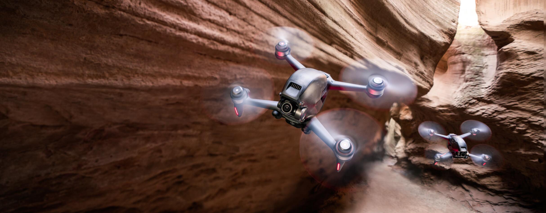Niesamowite wrażenia z lotu dronem