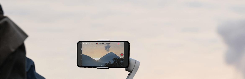 stabilizacja obrazu w gimbalu DJI Osmo Mobile 4