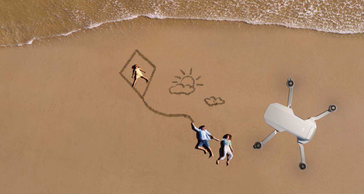 DJI Mini 2 Mavic Mini 2 dron na wakacje